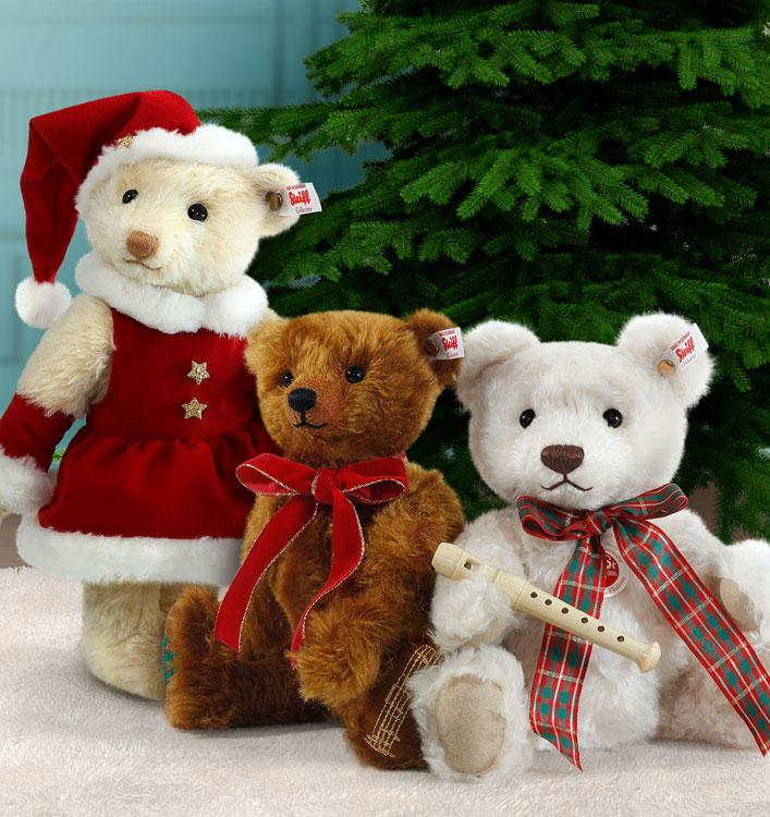 Mrs santa claus teddy bear ean by steiff at the