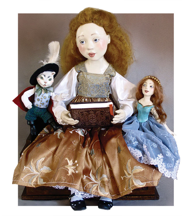 Storybook Time by Lucia Friedericy, Friedericy Dolls