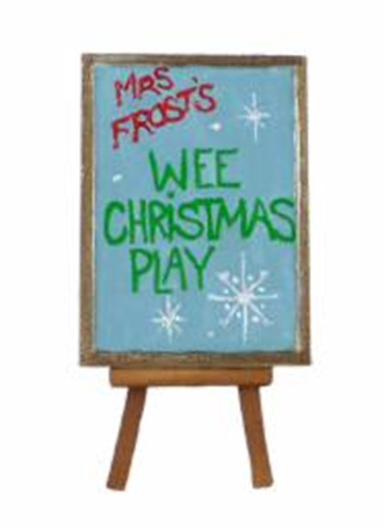 Wee Christmas Play Easel A-32 by Wee Forest Folk