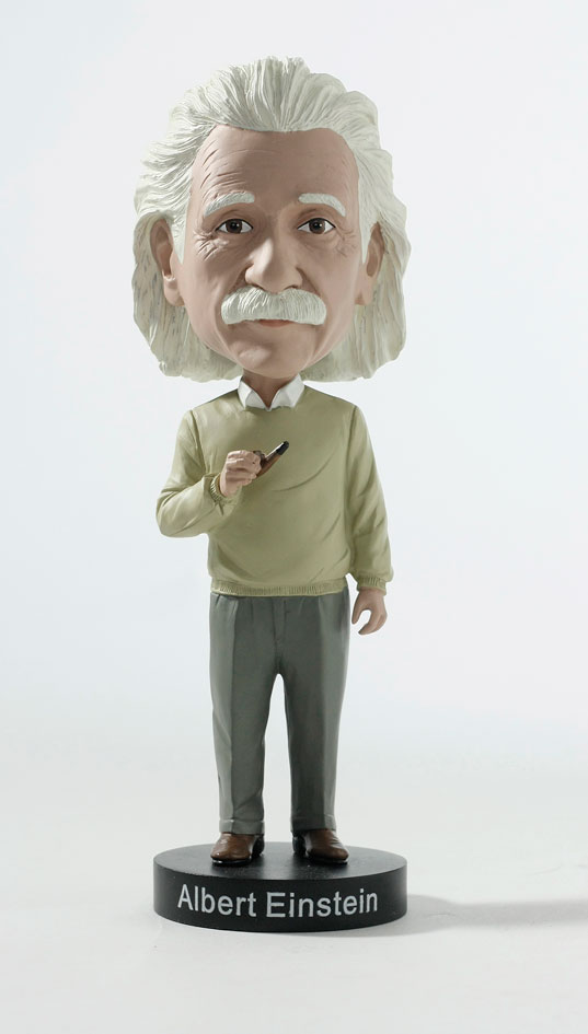 Albert Einstein Bobblehead By Royal Bobbles At The Toy Shoppe