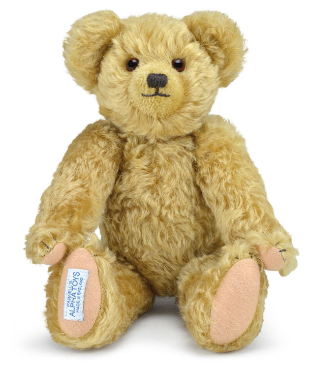 Little Edward, Christopher Robin's Teddy Bear by Merrythought