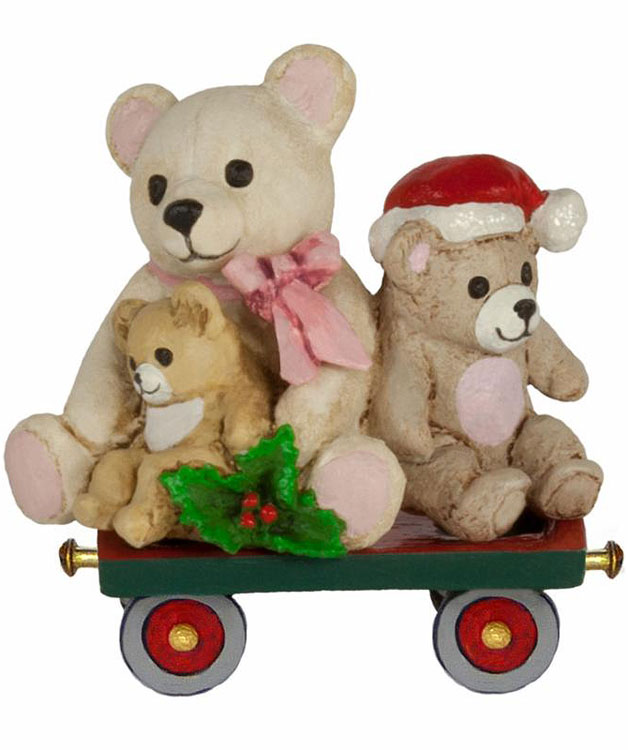 Teddy Trolley M-453l by Wee Forest Folk