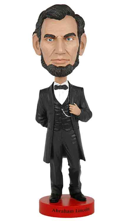 Abe Lincoln Bobblehead by Royal Bobbles