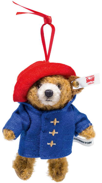 Paddington Bear Ornament EAN 690396 by Steiff