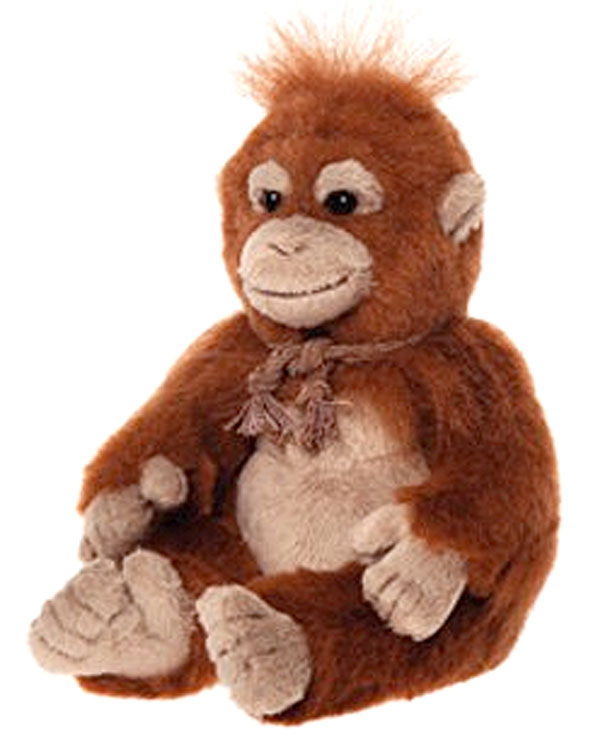 Jonjare Baby Orangutan By Charlie Bears At The Toy Shoppe