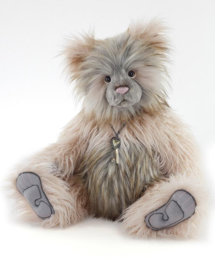 Manufactured Dolls & Bears Original Raggle ~ Stunning Plush Bear By Charlie Bears ~ Such A Sweet Face!!