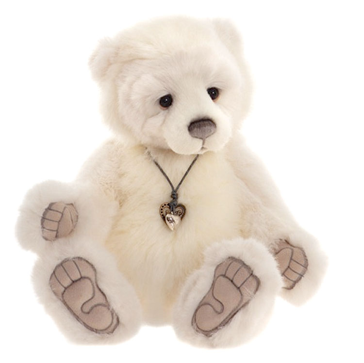 Chillblaine Polar Bear by Charlie Bears