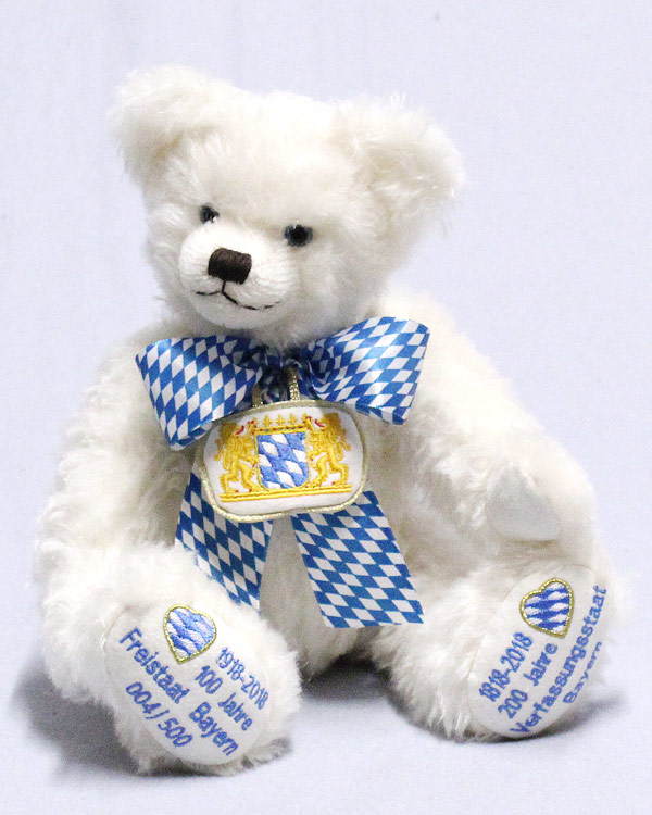 We Celebrate Bavaria Jubilee Bear 19903-6 by Hermann-Spielwaren GmbH