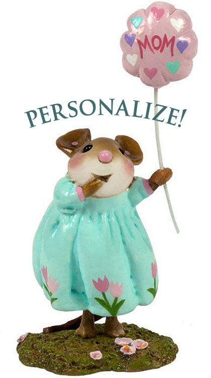 Personalized Best Mom! Girl M-561a by Wee Forest Folk