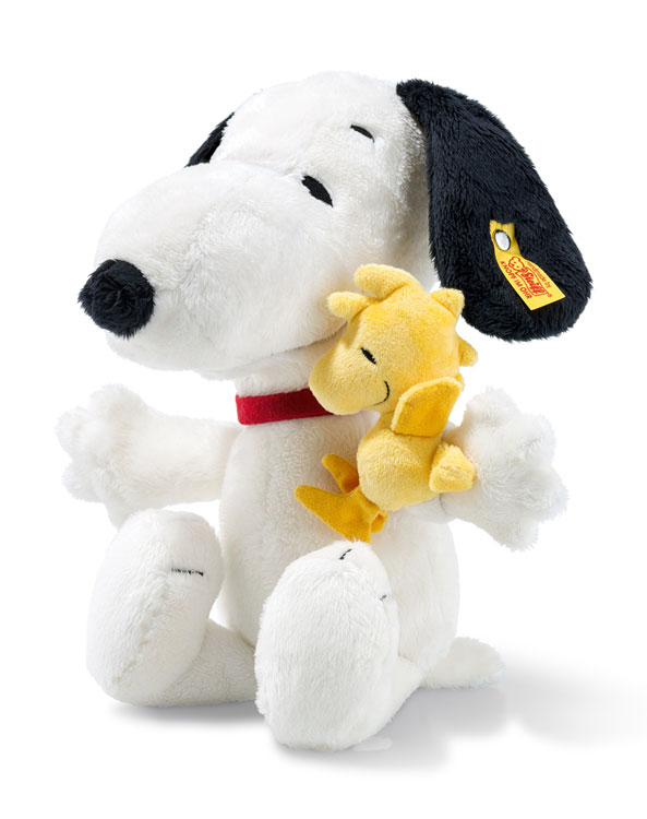 Snoopy and Woodstock EAN 658204 by Steiff