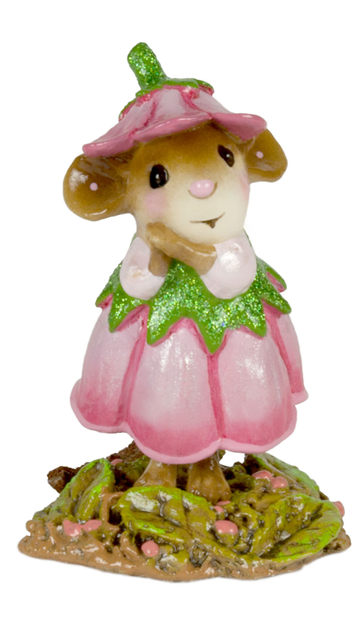 Wee Flower Mouse M-640f June by Wee Forest Folk