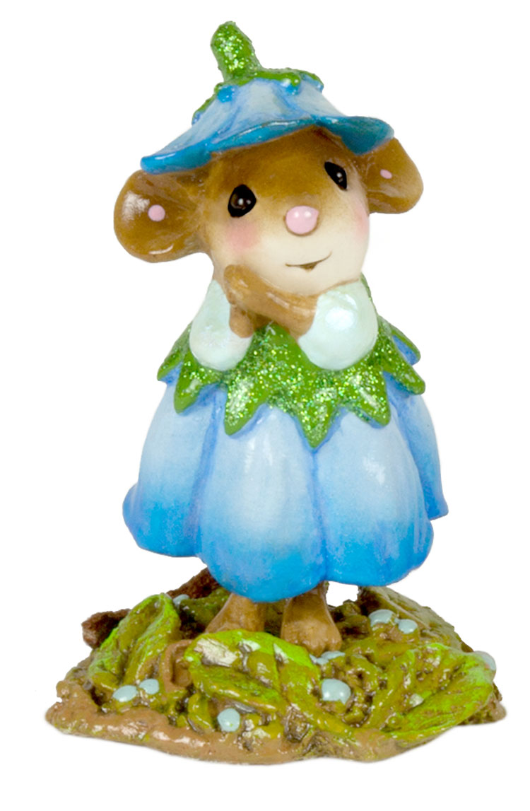 Wee Flower Mouse M-640g July by Wee Forest Folk