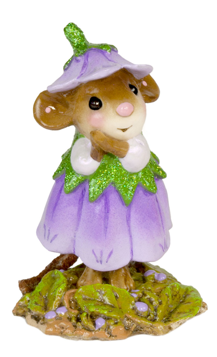 Wee Flower Mouse M-640i September by Wee Forest Folk