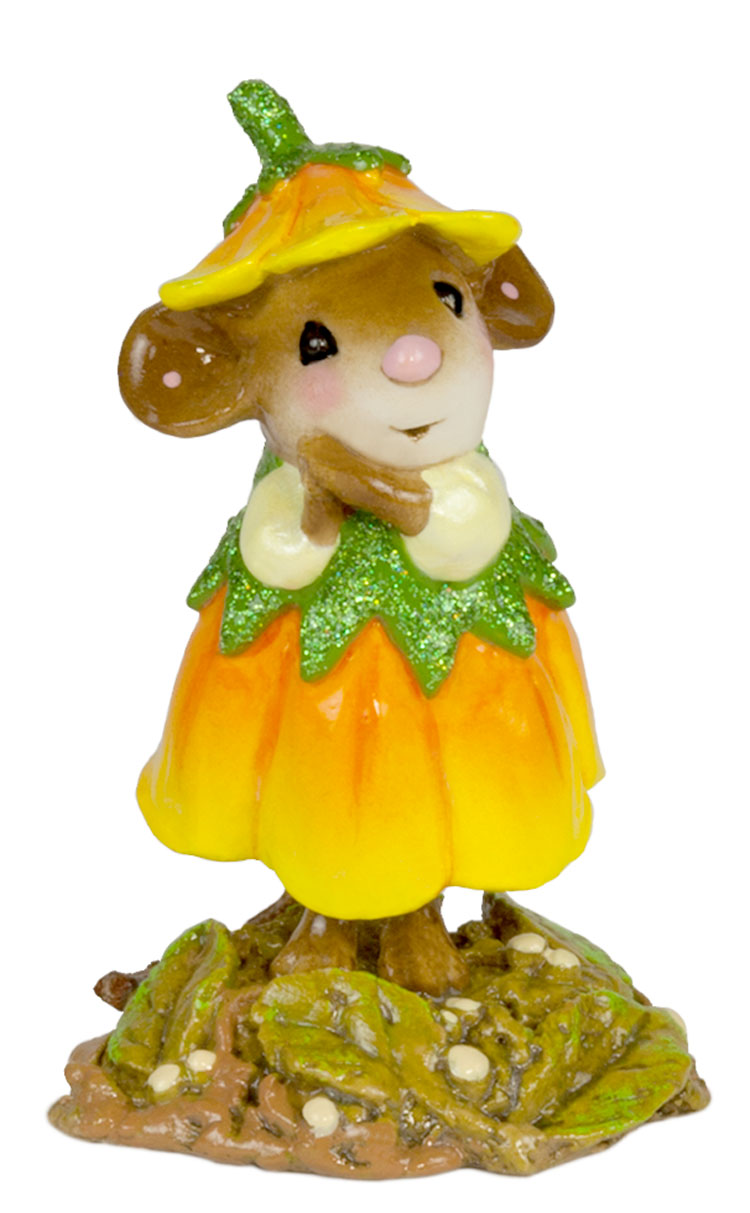 Wee Flower Mouse M-640j October by Wee Forest Folk