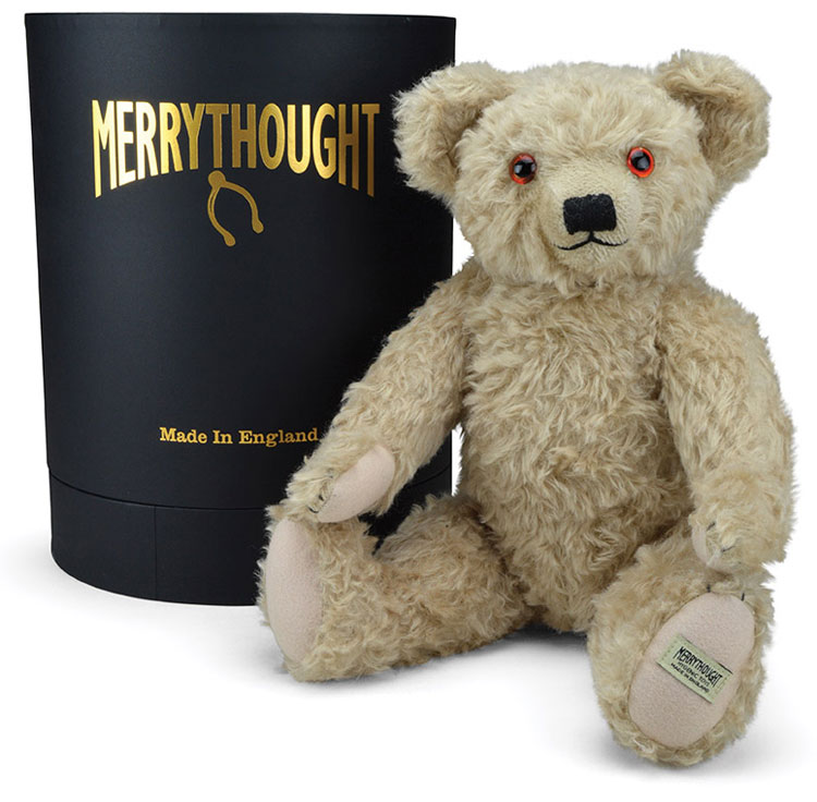 Royal Mail Stamp Replica Teddy Bear by Merrythought