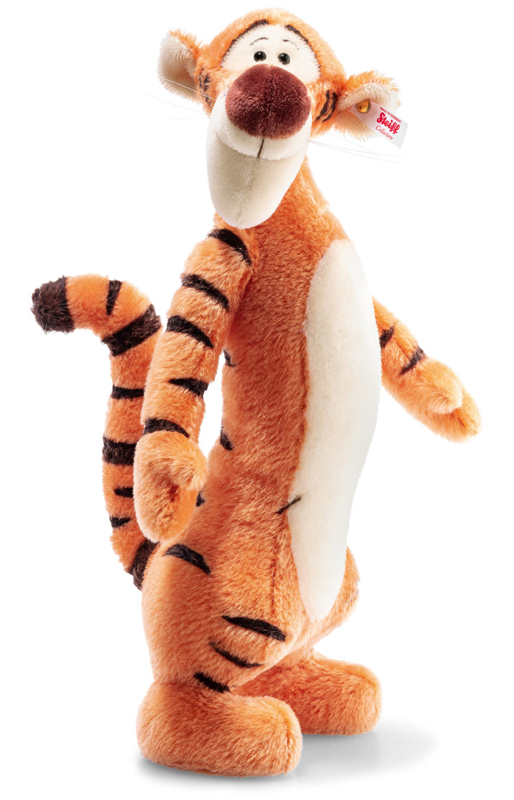 Large Contemporary Tigger EAN 683404 by Steiff