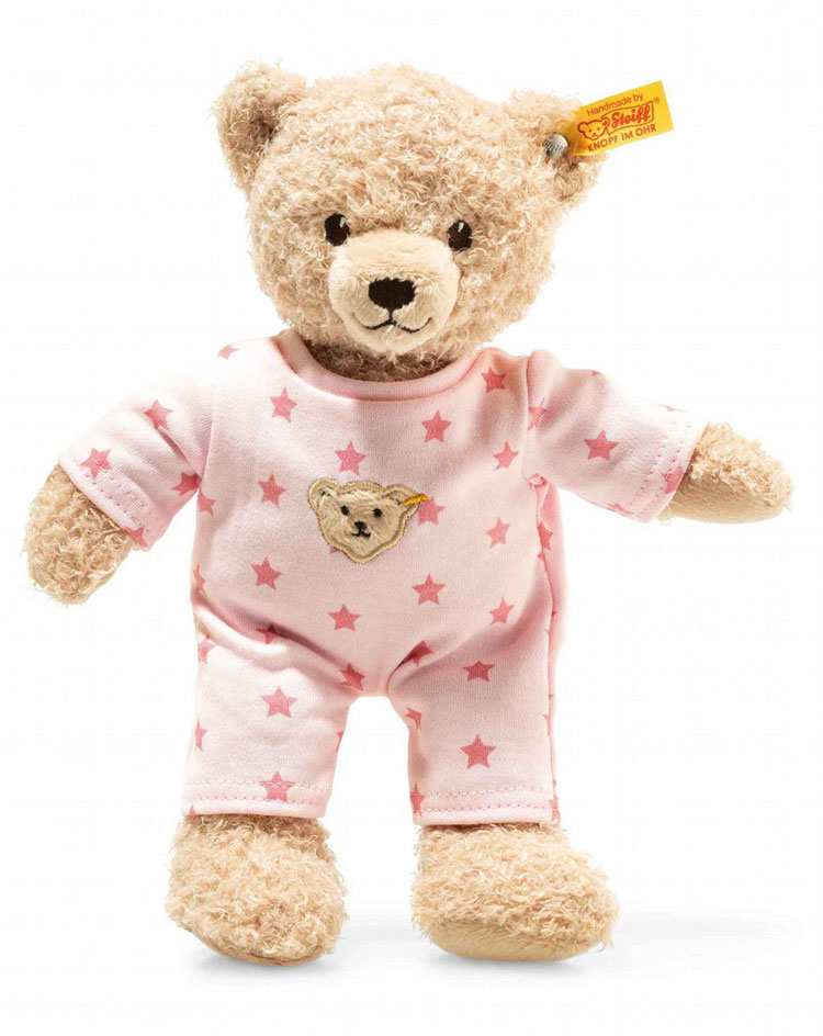 Teddy And Me Teddy Bear With Pajamas, Baby Girl EAN 241659 by Steiff