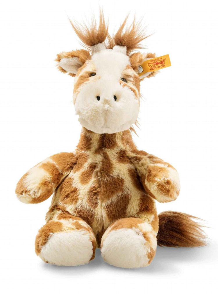 Girta Giraffe, Small Soft Cuddly Friend EAN 068164 by Steiff