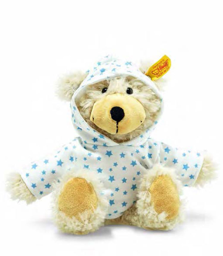 Charly Stars Dangling Teddy Bear With Hoody EAN 012389 by Steiff