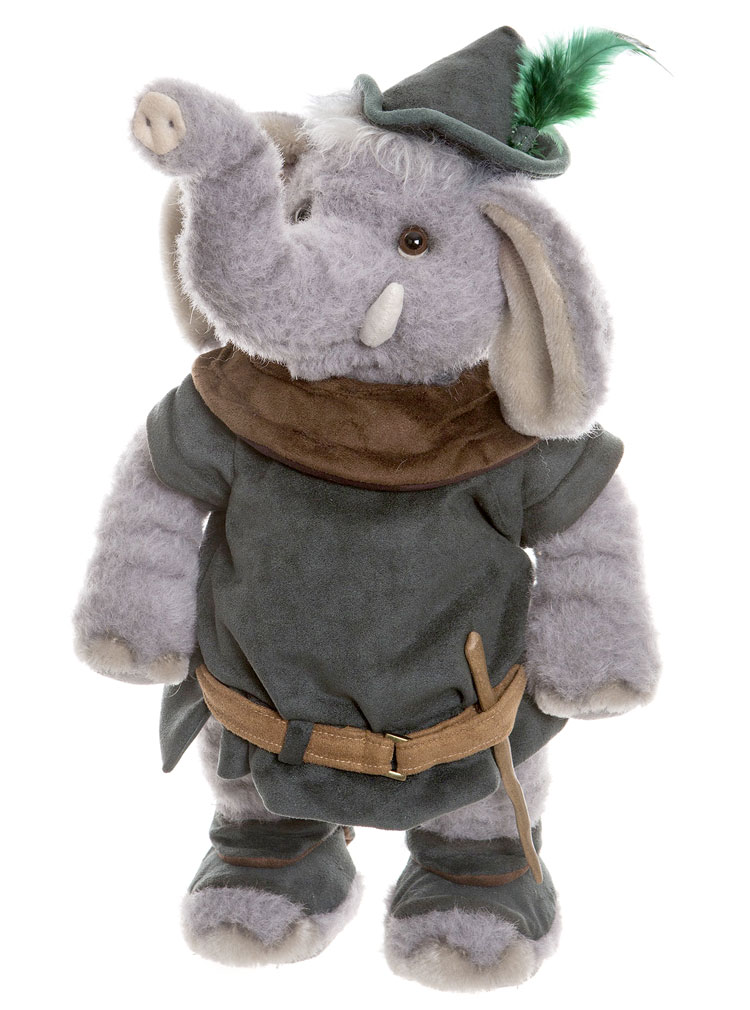 Little John Elephant by Charlie Bears