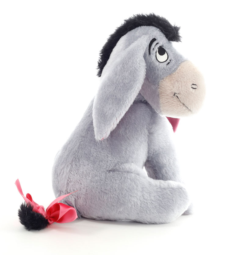 Large Contemporary Eeyore, 50th Anniversary Edition EAN 683565 by Steiff