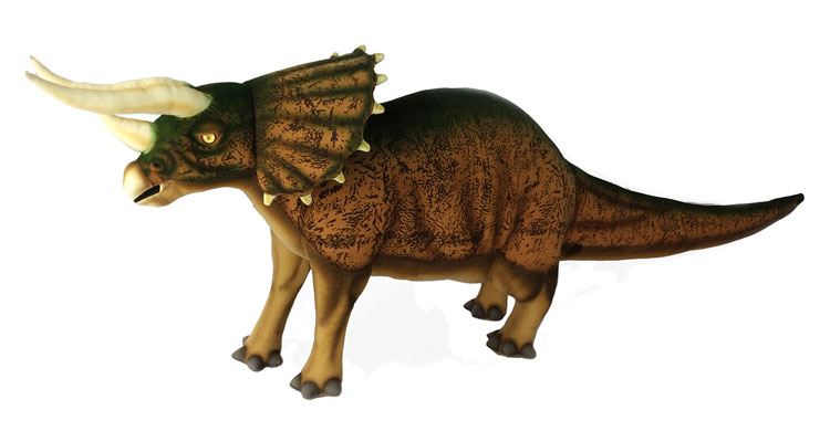 Triceratops Brown 7817 by Hansa