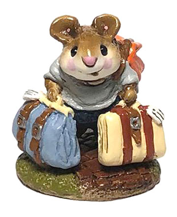 Mini Traveling Mouse M-110m by Wee Forest Folk