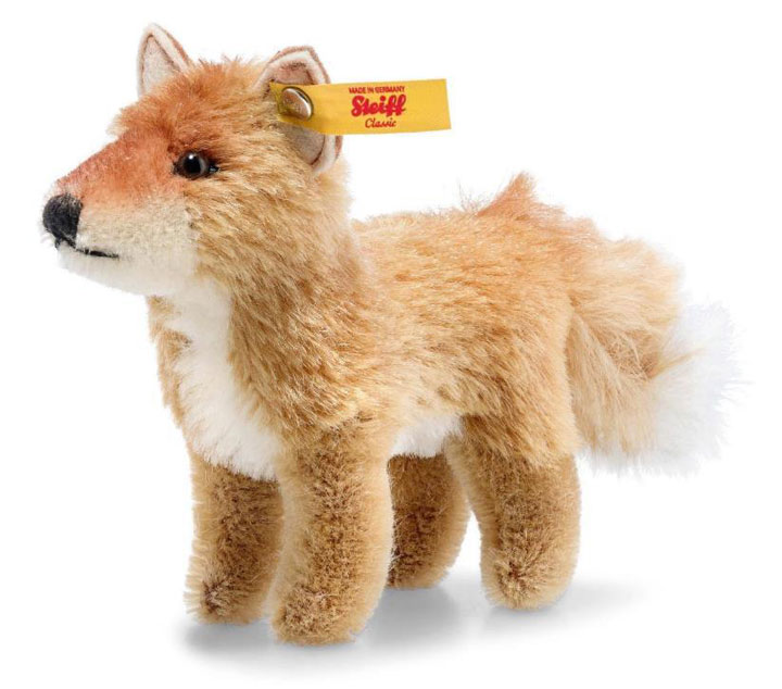 National Geographic Fox In Gift Box EAN 033544 by Steiff