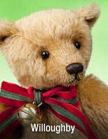 Willoughby, a Edwardian-age Christmas Teddy bear by R. John Wright