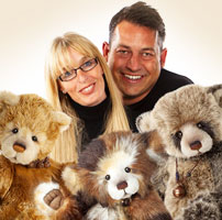 Charlie Bears Founders William & Charlotte Morris